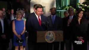 Ron DeSantis says Florida sheriff Scott Israel suspended over handling of Parkland shooting