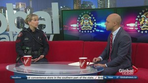 Learn what it's really like to work for a Calgary police officer