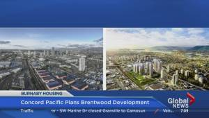 New development at Brentwood in Burnaby