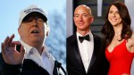Trump wishes Amazon CEO Jeff Bezos luck on his divorce, says 'it's going to be a beauty'