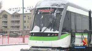 Edmontonians get a glimpse at what will be the new Valley Line LRT cars