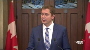 'Cover-up' going-on if Liberals vote down SNC-Lavalin meeting: Scheer
