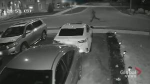 Police release new video of suspects in Mississauga restaurant explosion