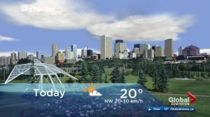 Edmonton early morning weather forecast: Tuesday, September 26, 2017