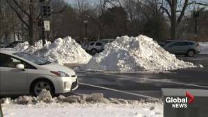 U.S. East Coast residents continue to clean up after major snow storm