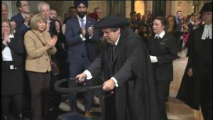 Mauril Bélanger, MP diagnosed with ALS, takes over Speaker's chair
