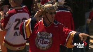 Hockey fans gather to send off Acadie-Bathurst Titan ahead of Memorial Cup