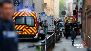 French police on manhunt for suspected suitcase bomber that left at least 13 people injured