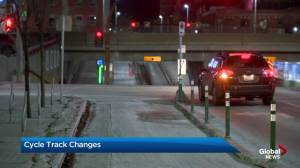 Changes could be coming to Calgary's cycle track network