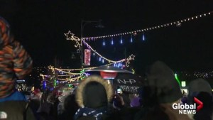 West Kelowna flips switch to turn on Christmas