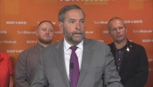 Mulcair apologizes for 1996 remark about Newfoundlanders and Labradorians