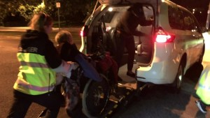 Strong reaction to story of senior stranded by taxi