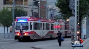 'Extremely risky behaviour': Calgary Transit hoping to identify CTrain prankster