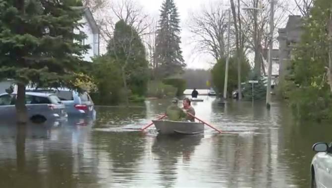 West Island Montreal Floods