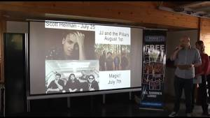 The 2018 Peterborough Musicfest lineup has been announced (01:42)