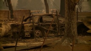 5 people found dead in cars trying to flee California wildfires