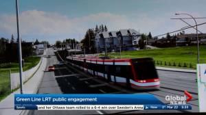 Green Line LRT public engagement meeting held Tuesday (01:11)