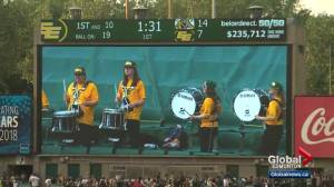A look at the Esks Force Drumline