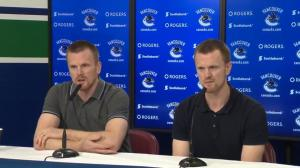 'It has to be a good fit': Sedins on returning to hockey in different role
