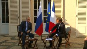 Putin chides Macron, says Russia doesn't want yellow vests