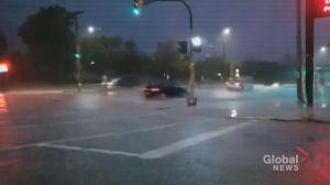 Instagram video of downpour in St. James