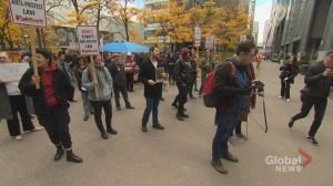 Free speech campaign promise sparks campus protest in Toronto