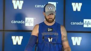 RAW: Blue Bombers Matt Nichols Interview – July 18