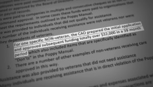 Poppy under pressure: Calgary Poppy Fund audit alleges 'embarrassing' misuse of donations
