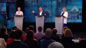 "Ont. Leaders' Debate: Wynne to Ford ""Have you been to a daycare?"""