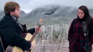 Newfoundland duo Quote The Raven visit Global News Morning