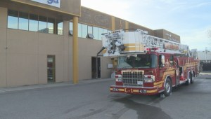 Fire at Omega Communications building in Kelowna