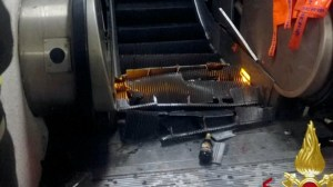 Russian soccer fans hurt in Rome metro escalator accident