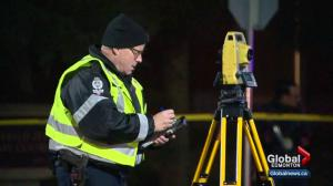 Edmonton police look for van after 2 people hurt in hit and run
