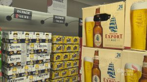 Ontario government cancels beer tax increase