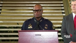 Police chief reads alleged comments from final suspect in Dallas police shooting