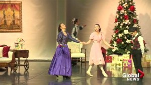 A sneak peak at rehearsals for Kelowna's Nutcracker ballet