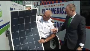 Solar ambulance a first in the country