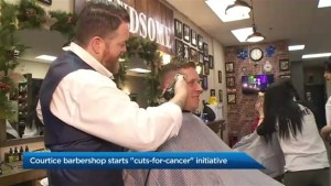 Courtice barbershop starts Movember 'cuts-for-cancer' initiative