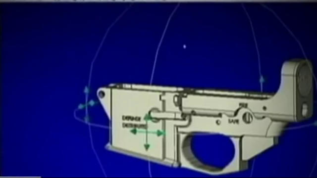 Dispute over 3D-printed guns raises legal issues