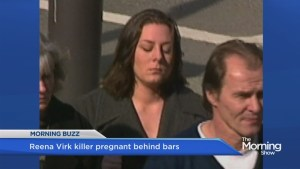 Killer bully pregnant behind bars