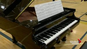 Haughey family donates piano to school in honour of son killed by drunk driver