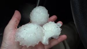 Parts of Texas recovering after powerful hail storm