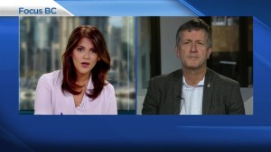 NDP candidate Svend Robinson talks Kinder Morgan stance and towing the party line