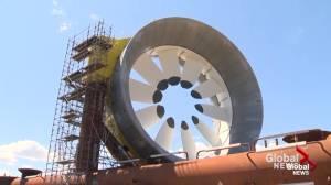 Nova Scotia installs tidal turbines in an attempt to go green