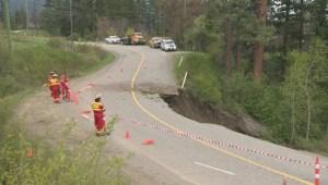 Westside Road Landslide