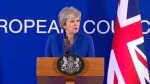 Theresa May urges U.K. parliament to deliver Brexit after EU gives second delay