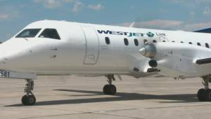 WestJet officially takes flight in Lethbridge