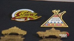 Stampede pin collection: A walk through time and Calgary's colourful past