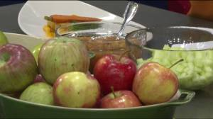 Cooking with Apples – Grilled Pork Loin Chops with Apple Compote & Apple Chutney