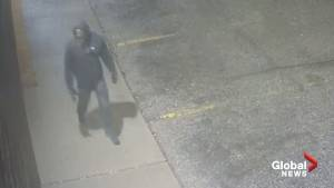 Waterloo police seek to identify person in video (00:51)